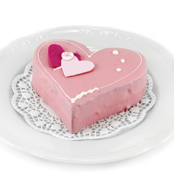 Heart Cake Pink 1