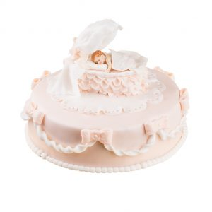 Newborn Birthday Cake
